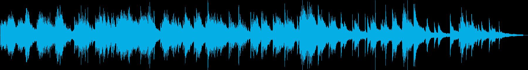 ヒーリングピアノ組曲 ただよう 7の再生済みの波形
