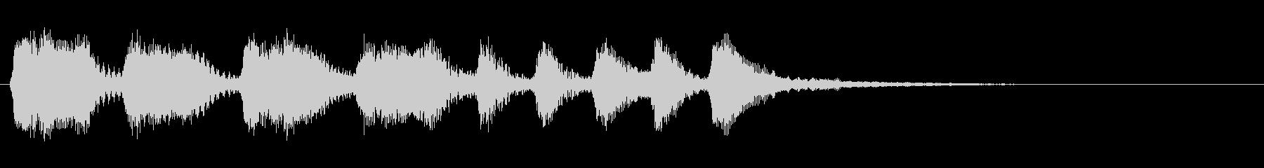 弦楽四重奏ジングル06_おてんばの未再生の波形