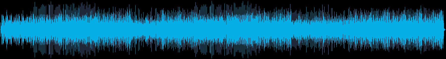 ギター、エレクトリックピアノ、ドラ...の再生済みの波形