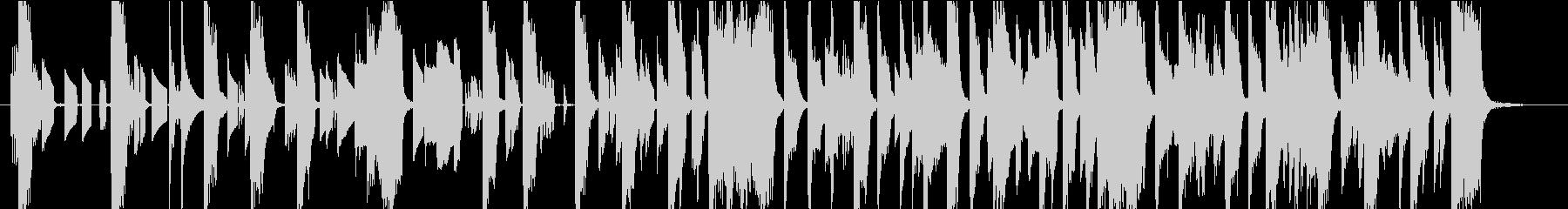 POPな電子音・可愛いジングル_2の未再生の波形