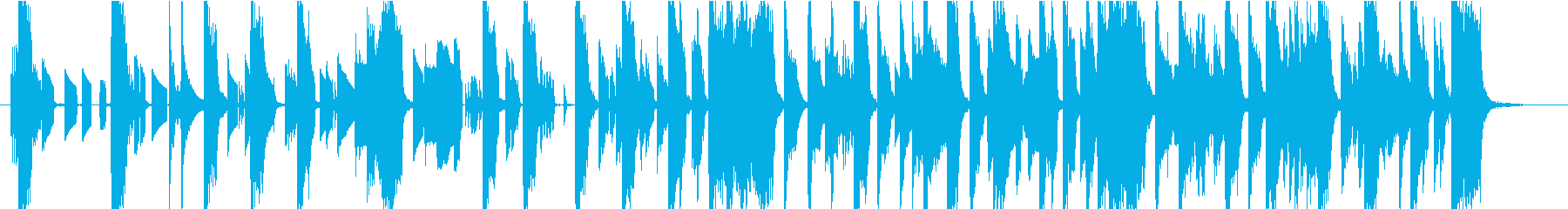 POPな電子音・可愛いジングル_2の再生済みの波形