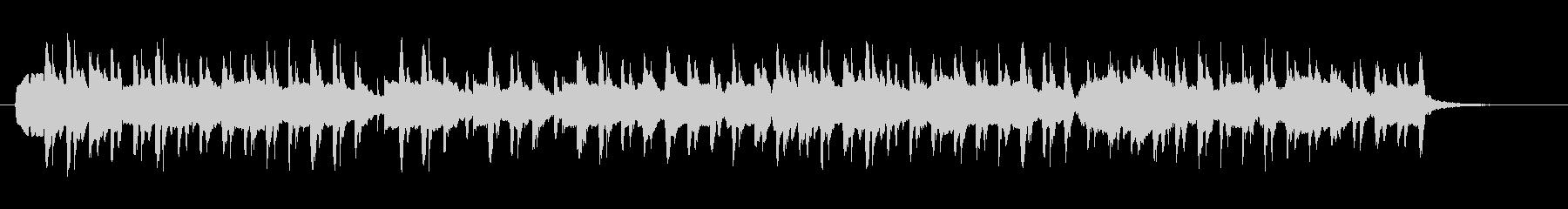 サティ「ジュ・トゥ・ヴ」をボサ風3拍子での未再生の波形