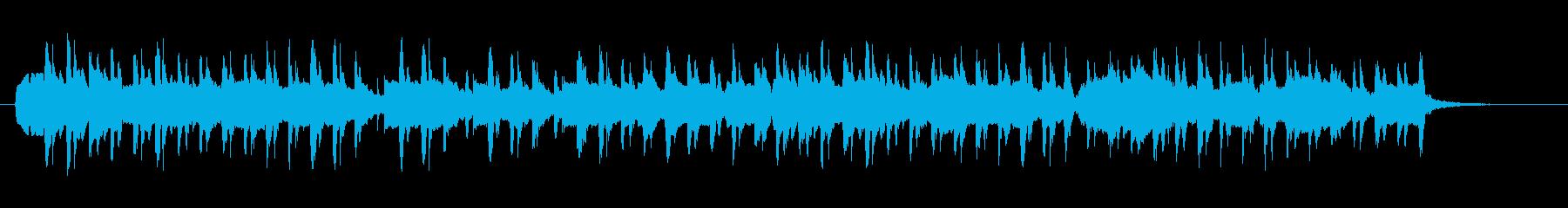サティ「ジュ・トゥ・ヴ」をボサ風3拍子での再生済みの波形