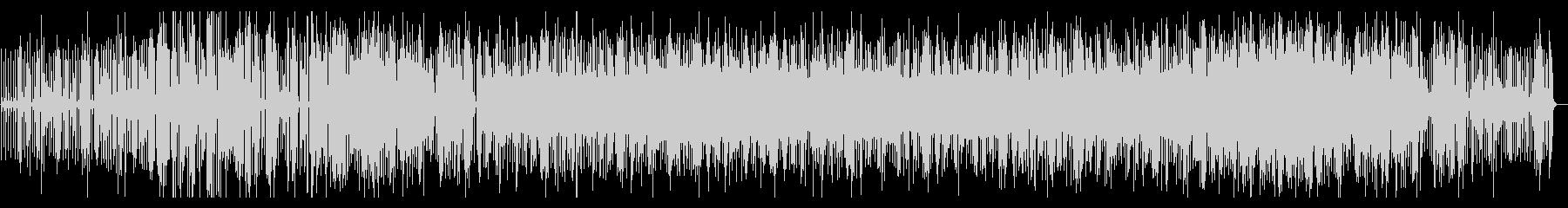ミドルテンポのエレキギターメイン楽曲ですの未再生の波形