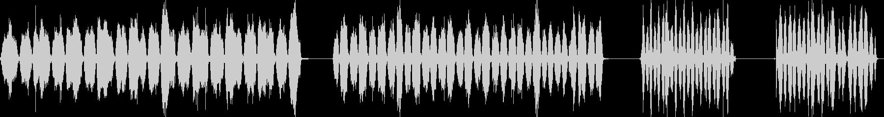 スクラブフロア、スクラブブラシ、4...の未再生の波形