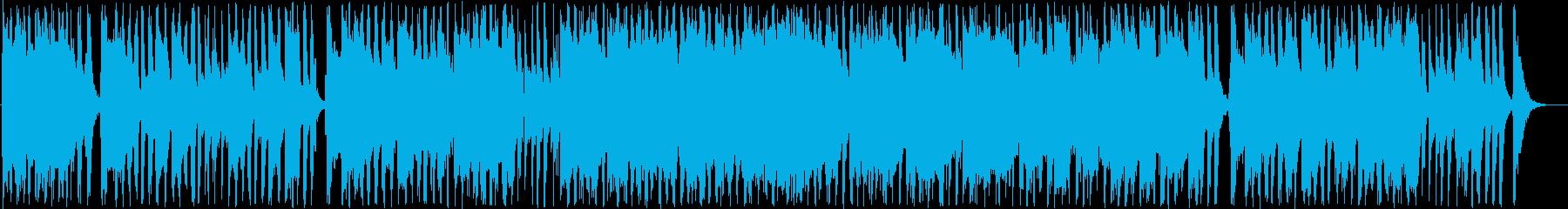 ノスタルジックなギター・シンセ系ポップの再生済みの波形