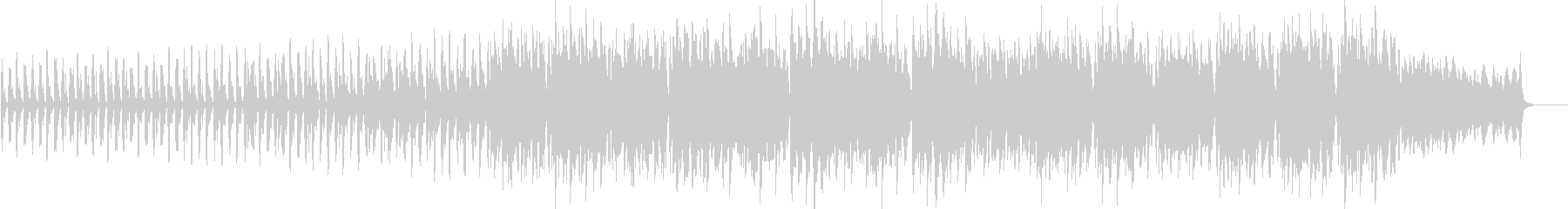 A song with a calm melody's unreproduced waveform