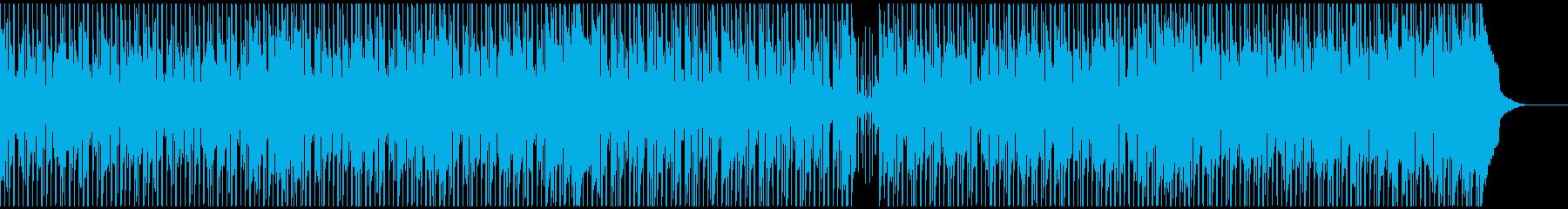 「ほのぼの・爽やか」の場面に向くポップ曲の再生済みの波形