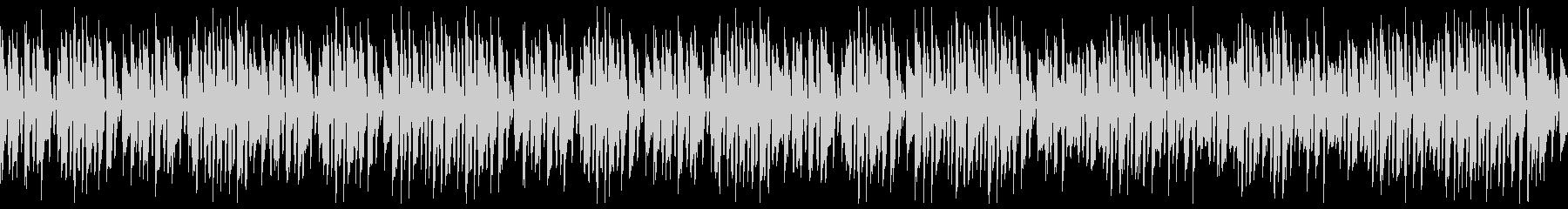 リコーダーで名曲エンターテイナー(ループの未再生の波形