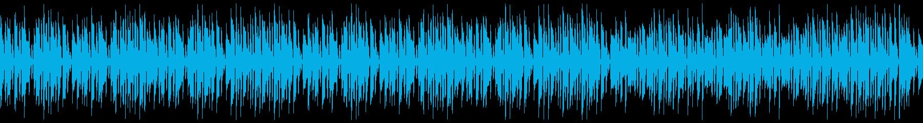 リコーダーで名曲エンターテイナー(ループの再生済みの波形