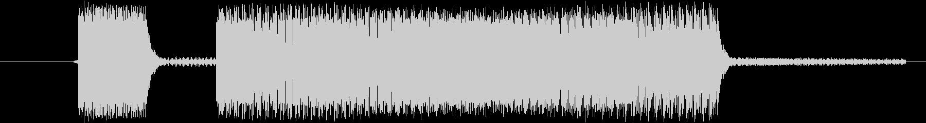 ブブー(クイズの不正解)の未再生の波形