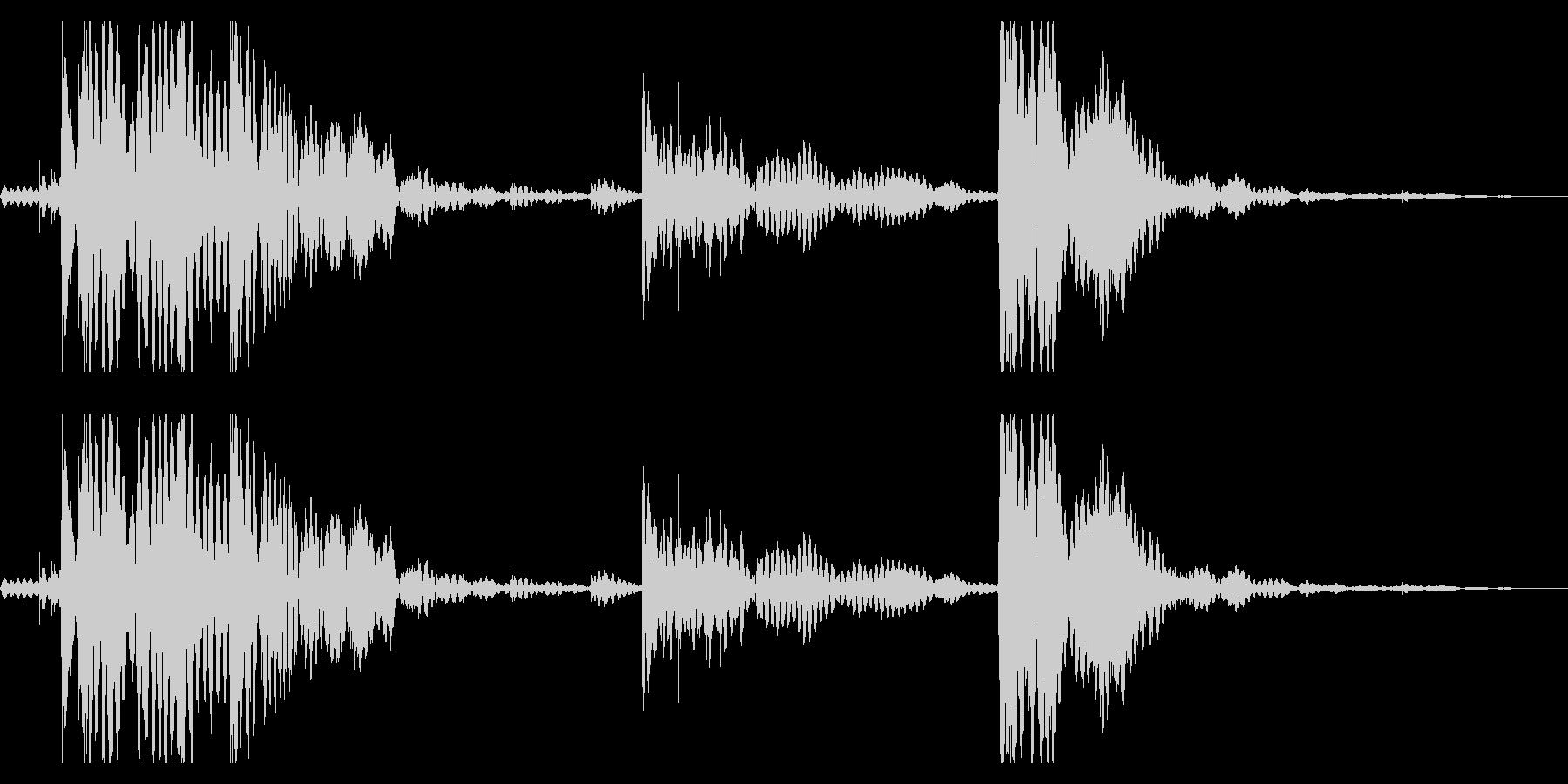 【生録音】チェーンの音 1 ジャラジャラの未再生の波形