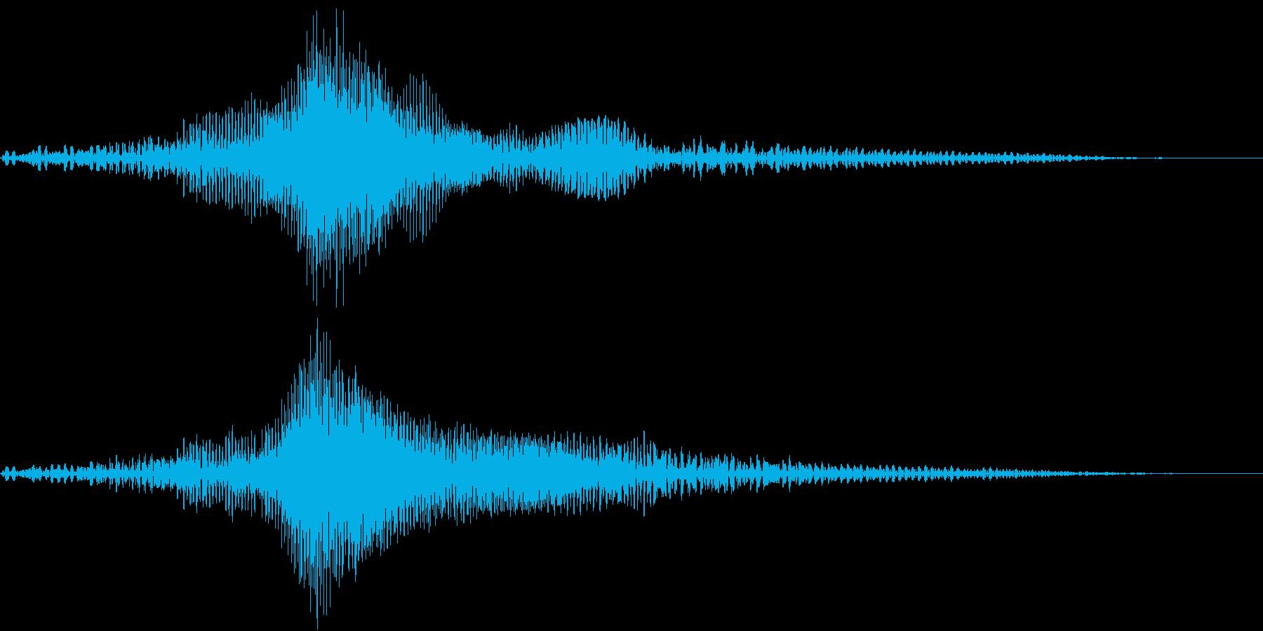 Saber ライトセイバー風 SE 2の再生済みの波形