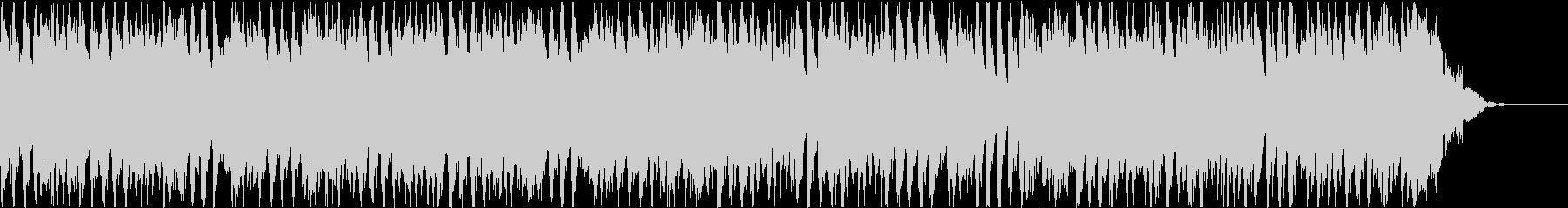 優雅で明るい4つ打ちBGM(短尺B盤)の未再生の波形