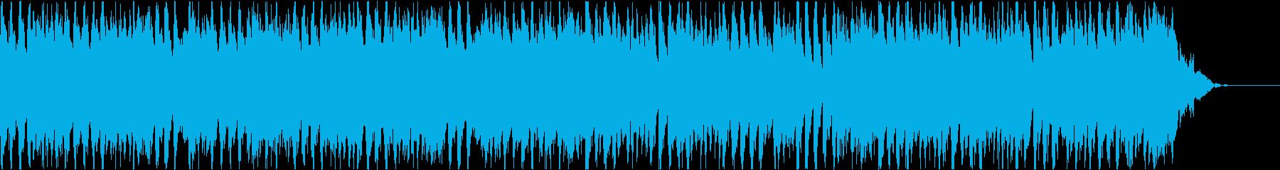 優雅で明るい4つ打ちBGM(短尺B盤)の再生済みの波形