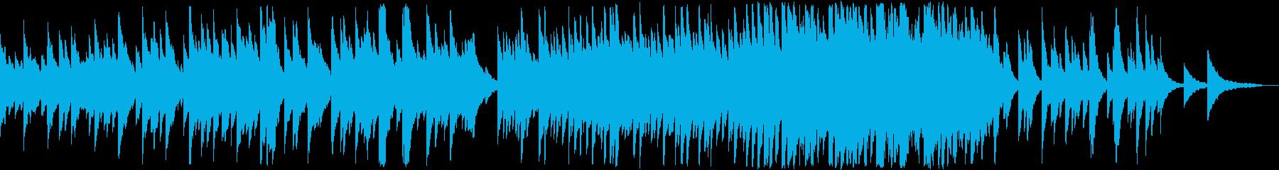 夕暮れの風情を味わう情緒溢れるエレピ曲の再生済みの波形