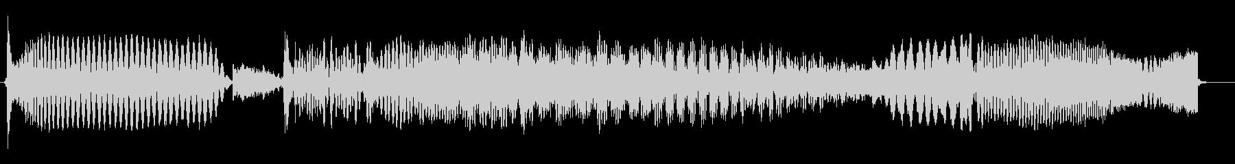 AGRO RADIOの未再生の波形
