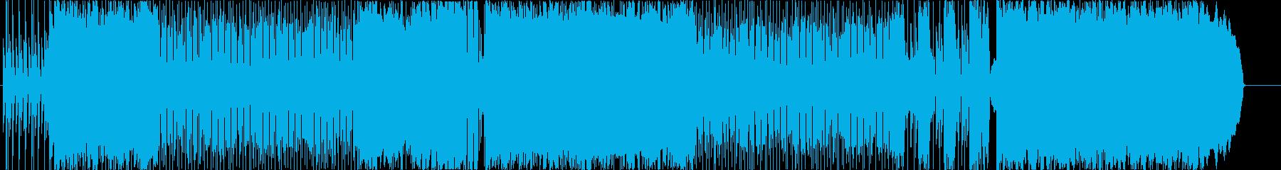 2000年代風ロックの再生済みの波形