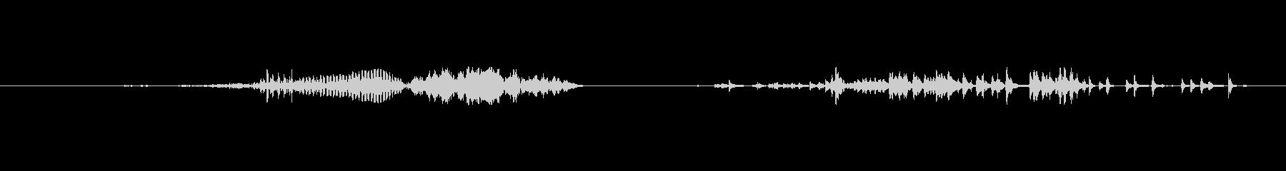 モンスター 窒息ゾンビショート07の未再生の波形