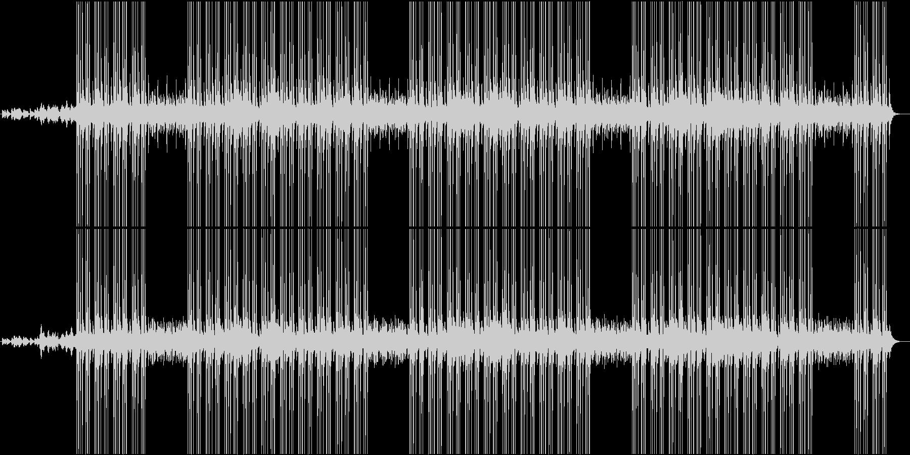 ダークな雰囲気のBGMの未再生の波形