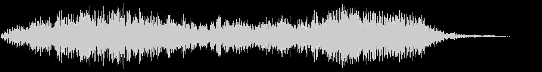 ルルルルルールルルル(なだらかな抑揚)の未再生の波形