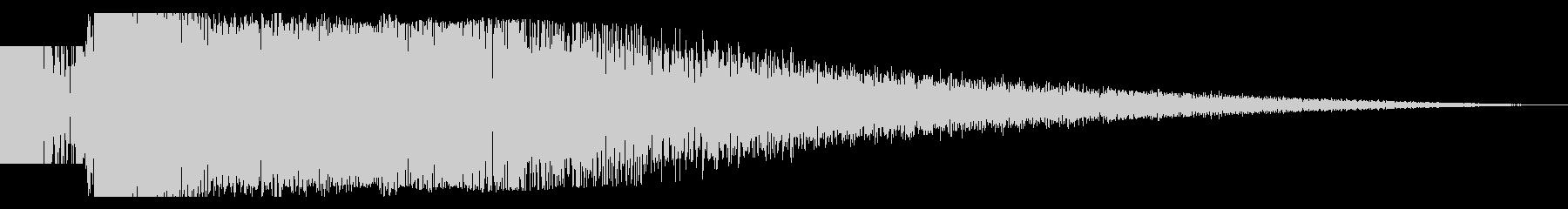 ビームライフル発射音 タイプ4(ロング)の未再生の波形