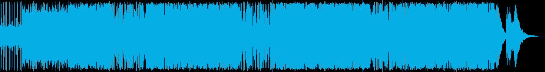 陽気なイメージのシーンを中心に利用でき…の再生済みの波形