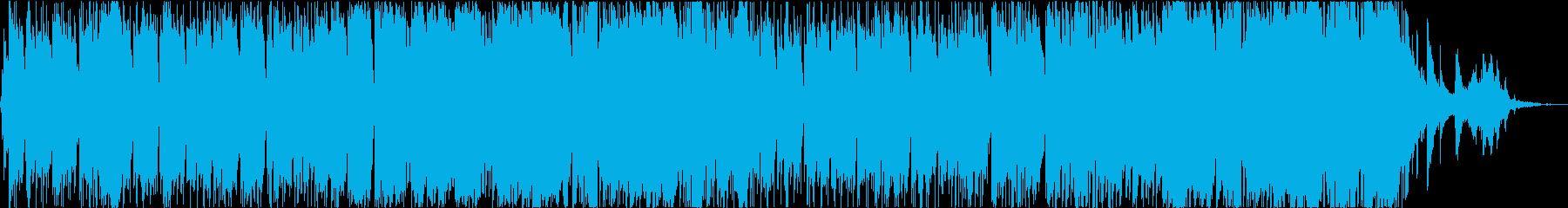 ピアノと木管の明るく期待感ある日常系の再生済みの波形
