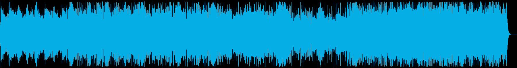 和風・和楽器・忍者ヒーロー:三味線抜きの再生済みの波形