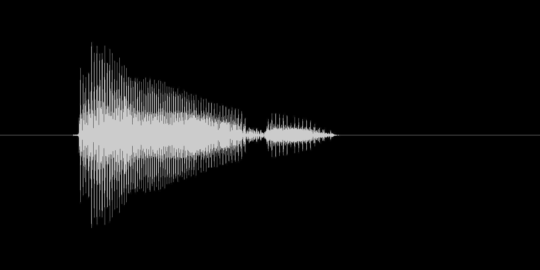 r,R,R(アール)の未再生の波形