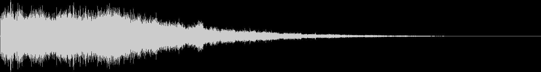氷魔法03b(冷気属性魔法)の未再生の波形