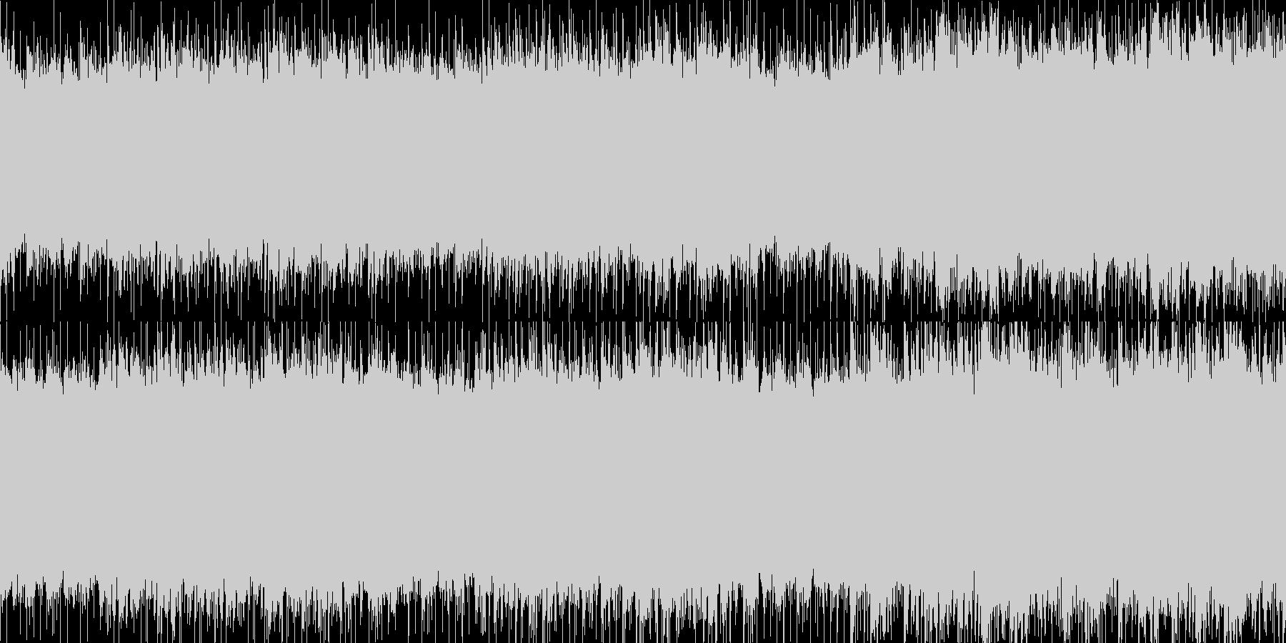 爽やか/幸福感/ピアノ/アコギ ループ版の未再生の波形