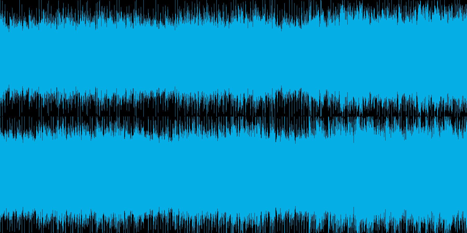 爽やか/幸福感/ピアノ/アコギ ループ版の再生済みの波形