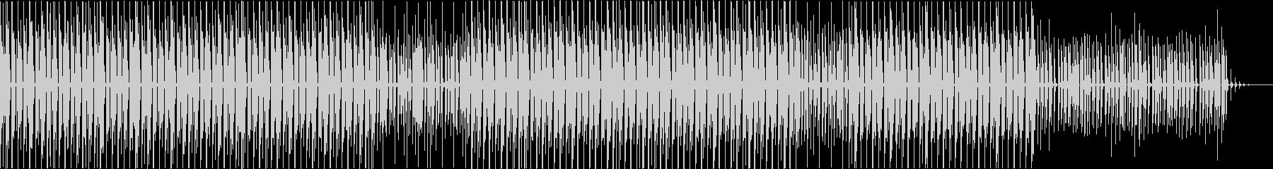 Fold Featherの未再生の波形