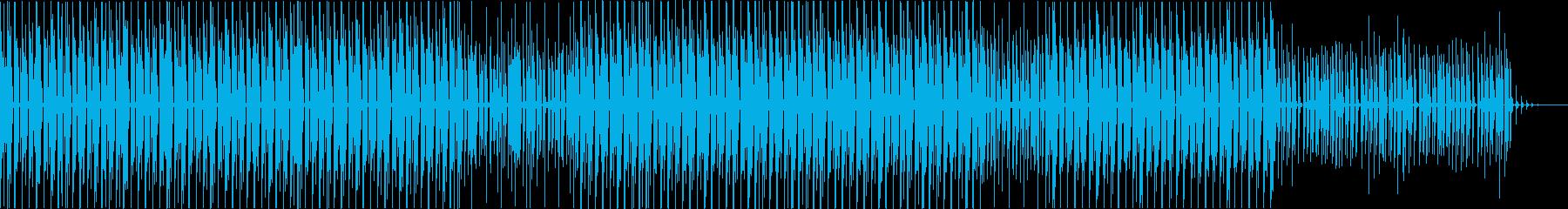 Fold Featherの再生済みの波形