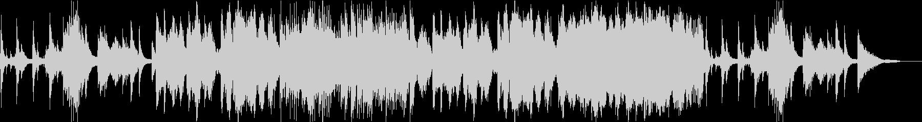 和調のバイオリンの旋律が印象的なBGMの未再生の波形