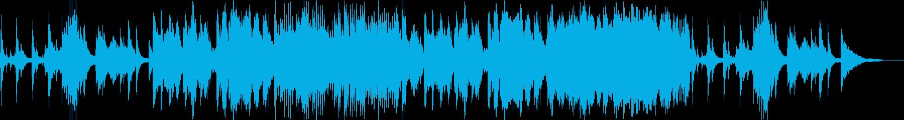 和調のバイオリンの旋律が印象的なBGMの再生済みの波形