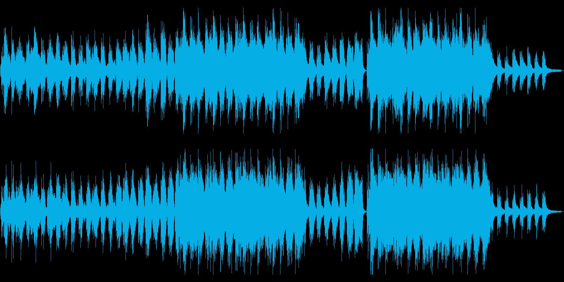 和楽器!琴と篠笛の壮大な和風アンビエントの再生済みの波形