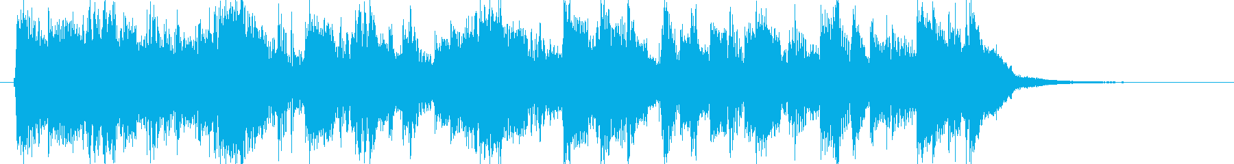 Rock and roll, guitar, energy, jingle's reproduced waveform