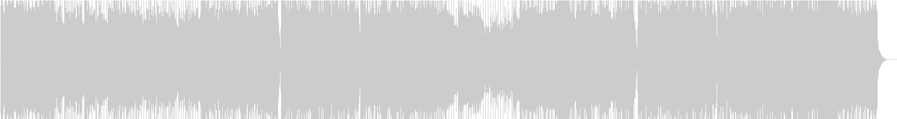 元気な戦闘BGM(ROCK)の未再生の波形