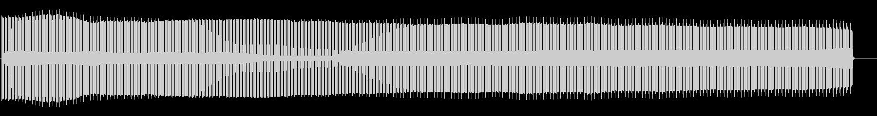 火災警報音の未再生の波形