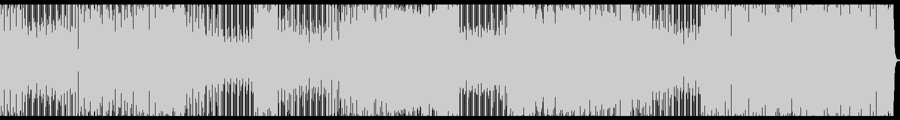 slapアドリブをメインとしたjazzの未再生の波形