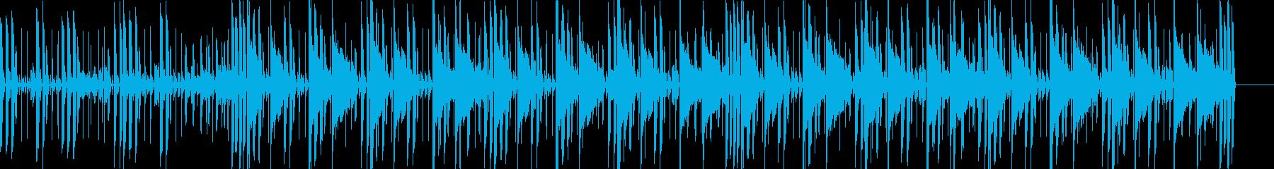 電子楽器。速いテンポ。やや「ラテン...の再生済みの波形