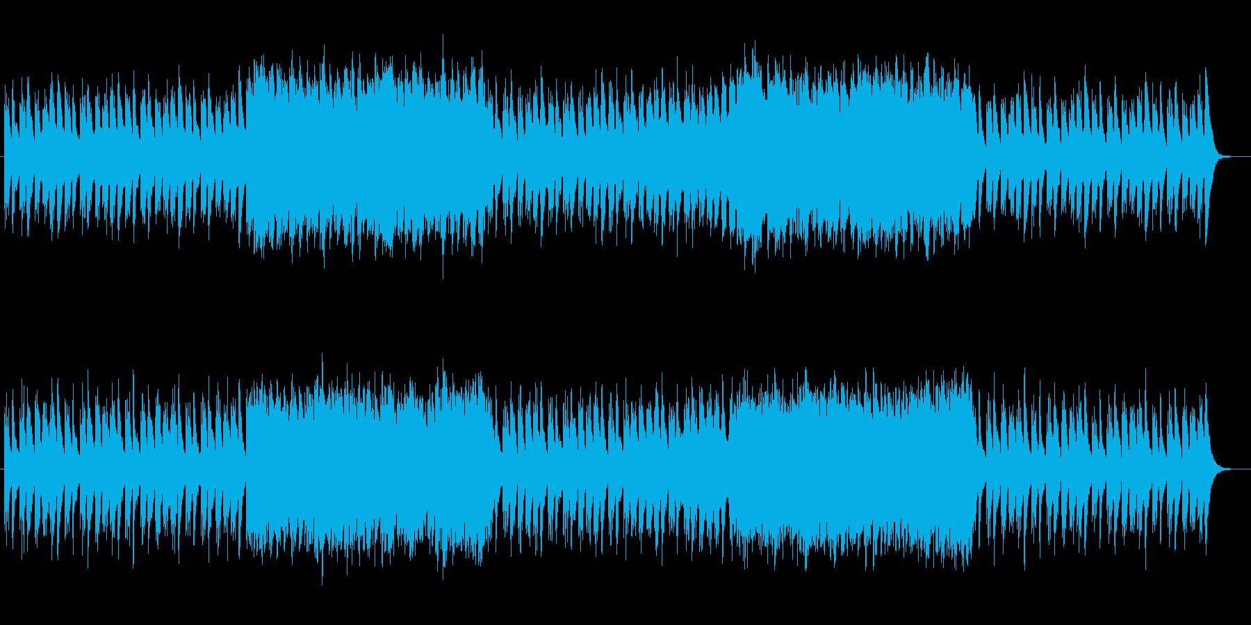 軽快で幻想的なストリングスポップスの再生済みの波形