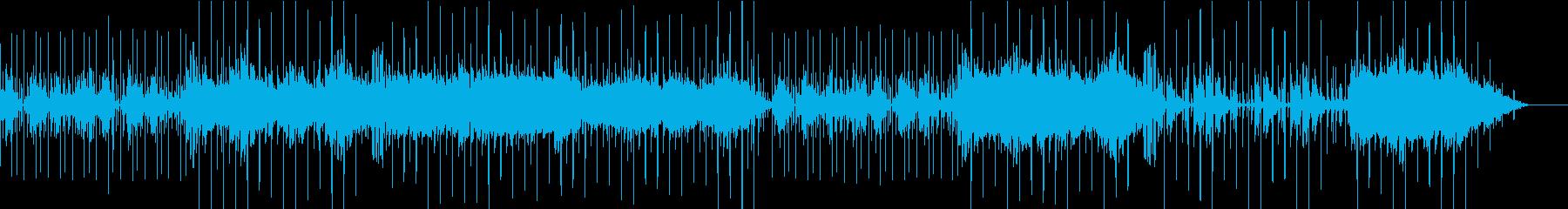 幻想的なゆったりカフェミュージックの再生済みの波形