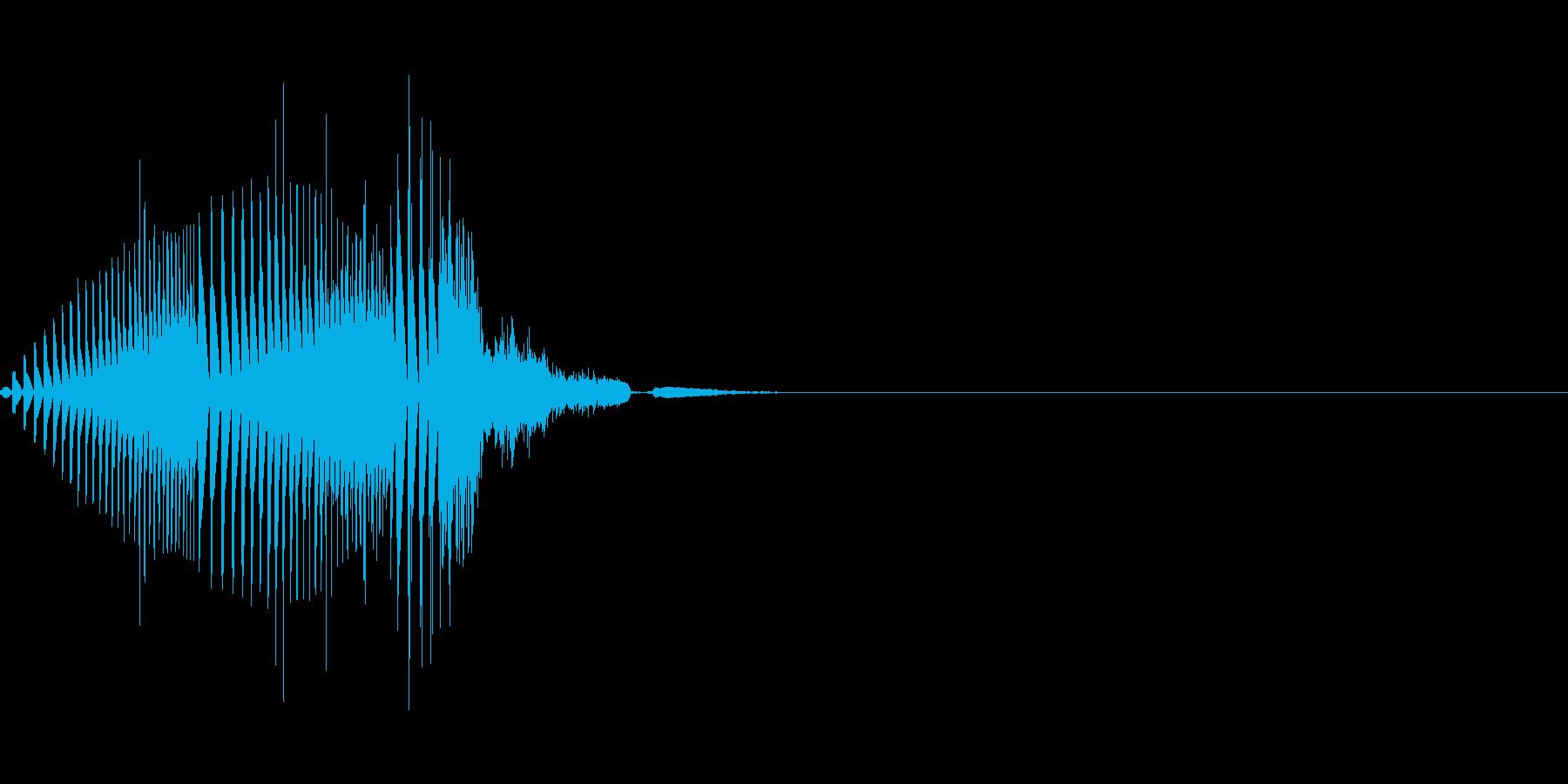 ブーンブーンの再生済みの波形