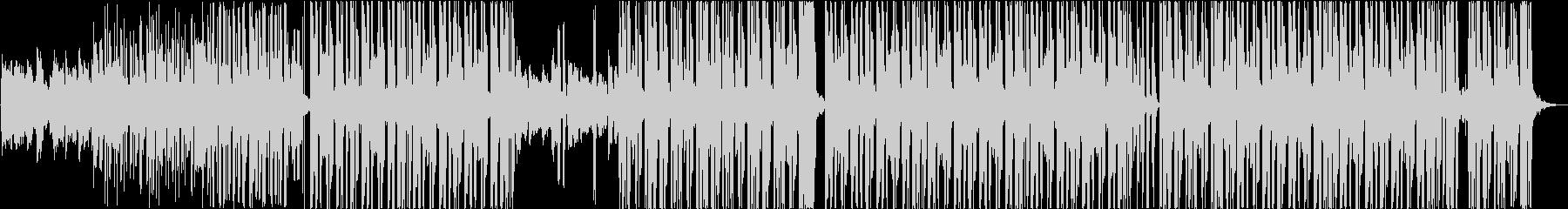 切ないエレクトロポップの未再生の波形