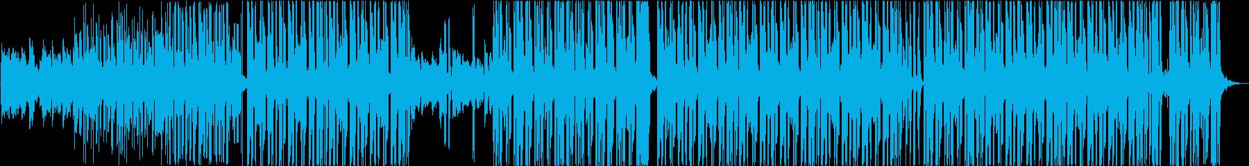 切ないエレクトロポップの再生済みの波形