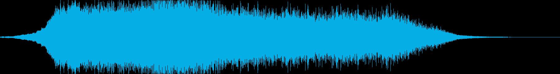 パワースイープバージョン1の再生済みの波形