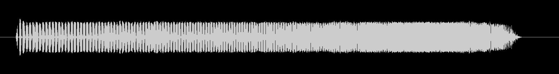 粒状化電子不良スキャナ調整音の未再生の波形